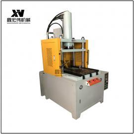 定制 滑台jingmi四柱液压机 裁切滑台液压机 shu控热压成型机