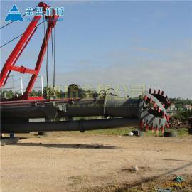 金盟 绞吸式抽沙船出口公司 绞吸船出口参考 12寸