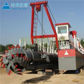 金盟 八寸小型绞吸式挖泥船生产工厂造价 绞吸船介绍 8寸