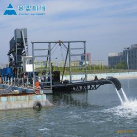 金盟国内射流式抽沙船设备配置简介12