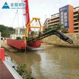 金盟泰国河道抽沙船用那种类型的设备12寸