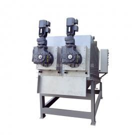 万洁环保 叠螺式污泥脱水机 叠螺压滤机 叠螺机定制 wjdl-402
