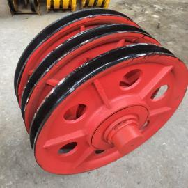 澳尔新双梁起重机滑轮组 耐磨钢丝绳滑轮10T滑轮组