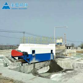金盟移动式大型工地滚筒筛沙机200