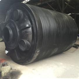 30吨水泥搅拌da桶ju乙烯防腐化工储罐