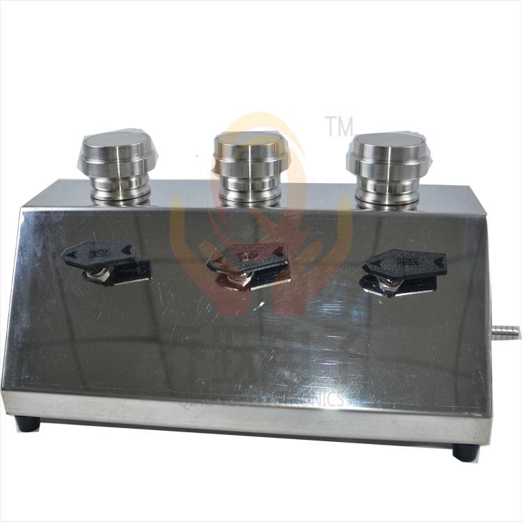 乔跃内置泵三联不锈钢过滤器,3联微生物限度检测仪QYW-300B