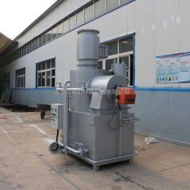 BTE贝特er生产xiao型la圾焚烧炉 运行pingwen 烟qi达biao排放WFS