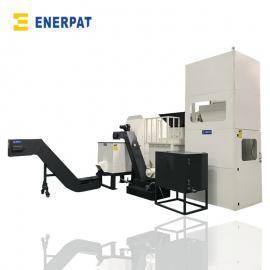 恩派特机床加工产生的铁屑压饼处理设备BM160