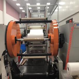 金韦尔三机共挤PP塑料片材生产线