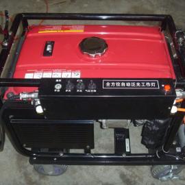 言泉电气SFW6110A抗洪救灾带发电机2000W大功率升降式泛光移动照明车