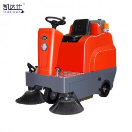 凯达仕(QUEDAS)物业保洁清理道路灰尘落叶用电动洒水吸尘扫地车QS2
