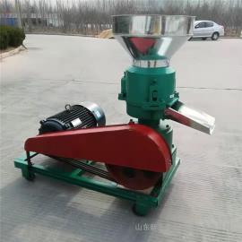 圣泰全自动饲料颗粒加工机 造�;�使用方法和视频时产500公斤