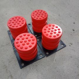 澳尔新起重机防撞装置 底板4个螺栓式聚氨酯缓冲器JHQ-C-7
