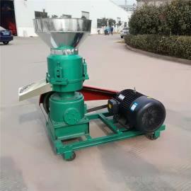 圣泰兔子养殖造�;�图片 草粉压制颗粒设备 热卖机型9KL-300