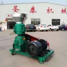 圣泰养猪用颗粒饲料制作 牛羊用造�;�型号时产500公斤