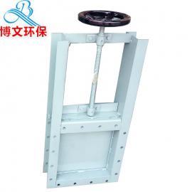 博文手动插板阀气动电动闸板阀加工定做300*300
