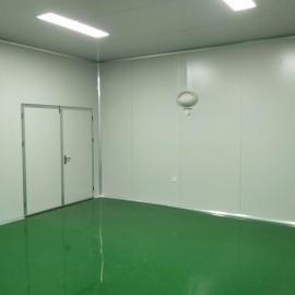 俊恒净化工程中央厨房净化板装修