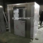 不锈钢风淋室单人双人不锈钢风淋门货淋室货淋通道支持定制红日HR-FLS