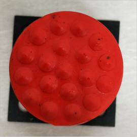 亚重JHQ-A-16耐用起重机橡胶垫块 行车螺杆式聚氨酯缓冲器 电梯用缓冲装置