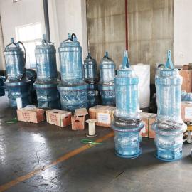 德能14.2020泵业新一代潜水混流泵生产制造商QHB
