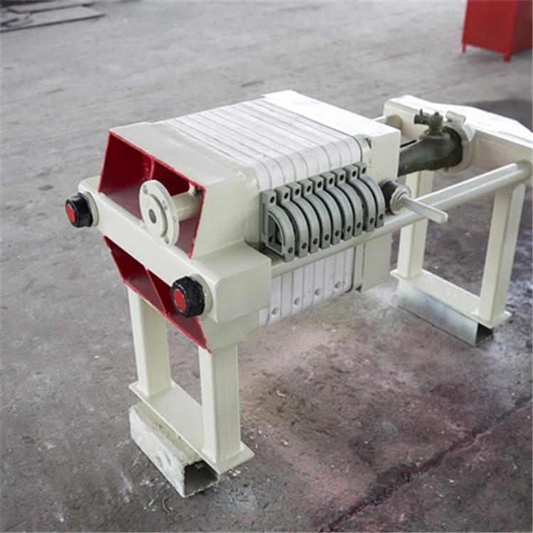 明华型千斤顶个压紧压滤机,适用于各行业的固液分离450