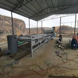 国一环保水洗沙泥浆压滤机工作视频ZQNY-2500
