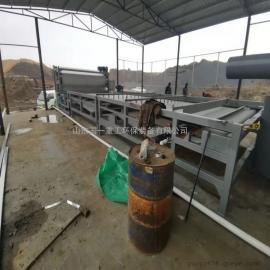 国一环保诸城洗沙污泥带式压滤机环保设备ZQNY-3500