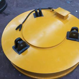 澳尔新行车叉车用强磁电磁吸盘 耐高温耐腐蚀电磁铁φ100