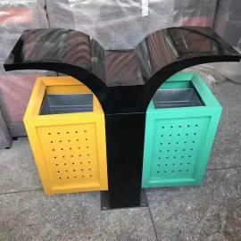 绿华lvhua景观园林垃圾桶制造商 街道环卫保洁桶生产商lh-01