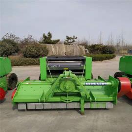 圣泰麦草打捆机型号 收割粉碎回收机9YY-0.7