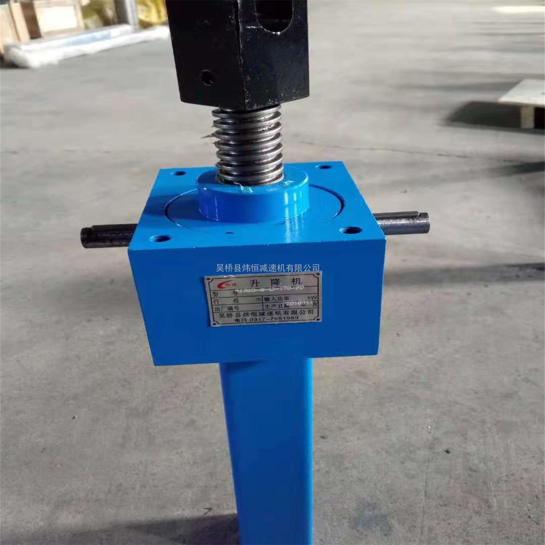 SJA1000螺旋升降机蜗轮