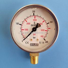 JUNIOR II-E宝华消防潜水呼吸器专用充气泵/压缩机压力表N4101