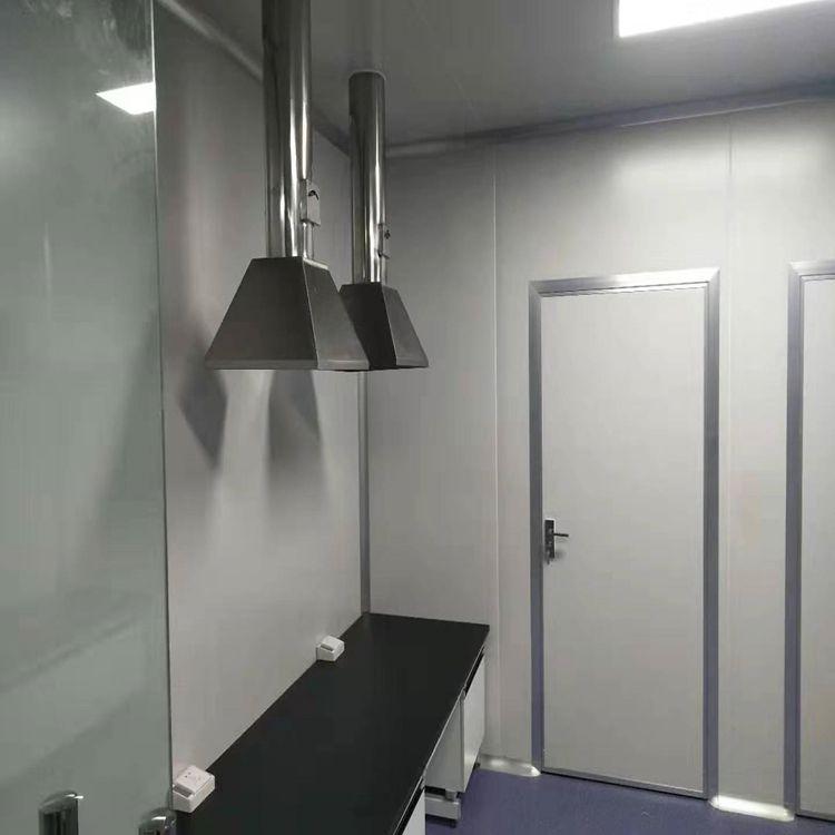 汇众达学校实验室净化车间风机安装HZD