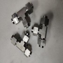 GLT不锈钢全系列高压卡套式三通液压接头GB3745-20#