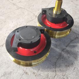 澳尔新天车行走大轮 龙门吊轨道行走装置 整体调制车轮组φ600*150
