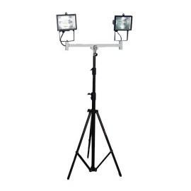 鼎轩照明便携式升降工作灯2*500W大功率泛光灯SZC6205