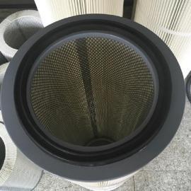 --华威260g聚酯纤维无纺布除尘滤芯阻力小除尘滤筒