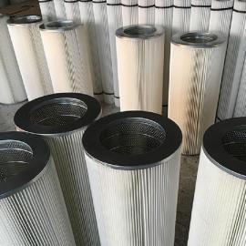 --华威替代AMANO安满能高压回收机滤芯提高使用效率覆膜除尘滤芯