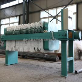 BTE贝特尔板框污泥压滤机设备 食品厂污泥处理设备 质优价廉XAM