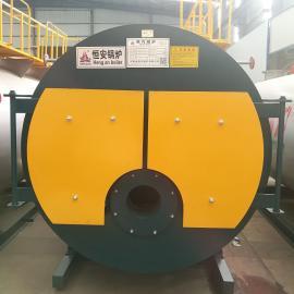恒安4吨卧式燃油燃气蒸汽锅炉WNS4-1.25-Y(Q)