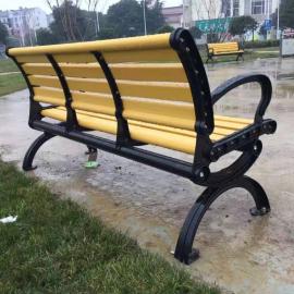公交站台等车长凳子厂商-长椅加工企业
