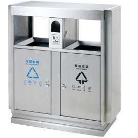 不锈钢垃圾桶-户外果皮箱-生活分类垃圾收集桶