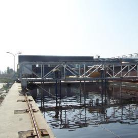 周边传动全桥式刮泥机ZCGB南京兰江