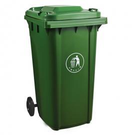 绿华lvhua市政塑料垃圾桶生产货源 240升加厚可挂车垃圾桶定制工厂lh-01