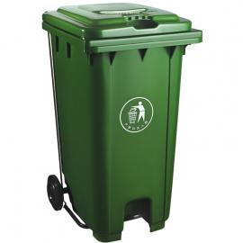 市政环卫脚踩分类塑料加厚垃圾桶生产制造厂商