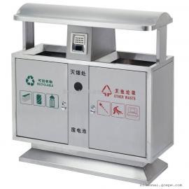 多麦四分类垃圾桶、环卫果皮箱定制120L