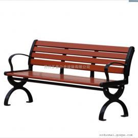 多麦景观休闲椅定做、公园椅款式现货园林长凳