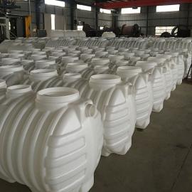 绿明辉牛筋0.8立方白色一体成型化粪池厂家直销