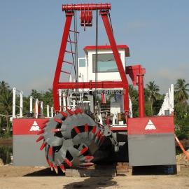 金盟 池塘挖泥船作业xiao率 绞吸式挖泥船xian货 10寸
