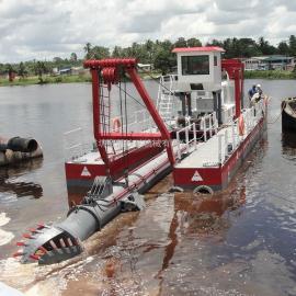 金盟 小型抽sha船产量neng达到ma 六cun绞吸船成本 6cun